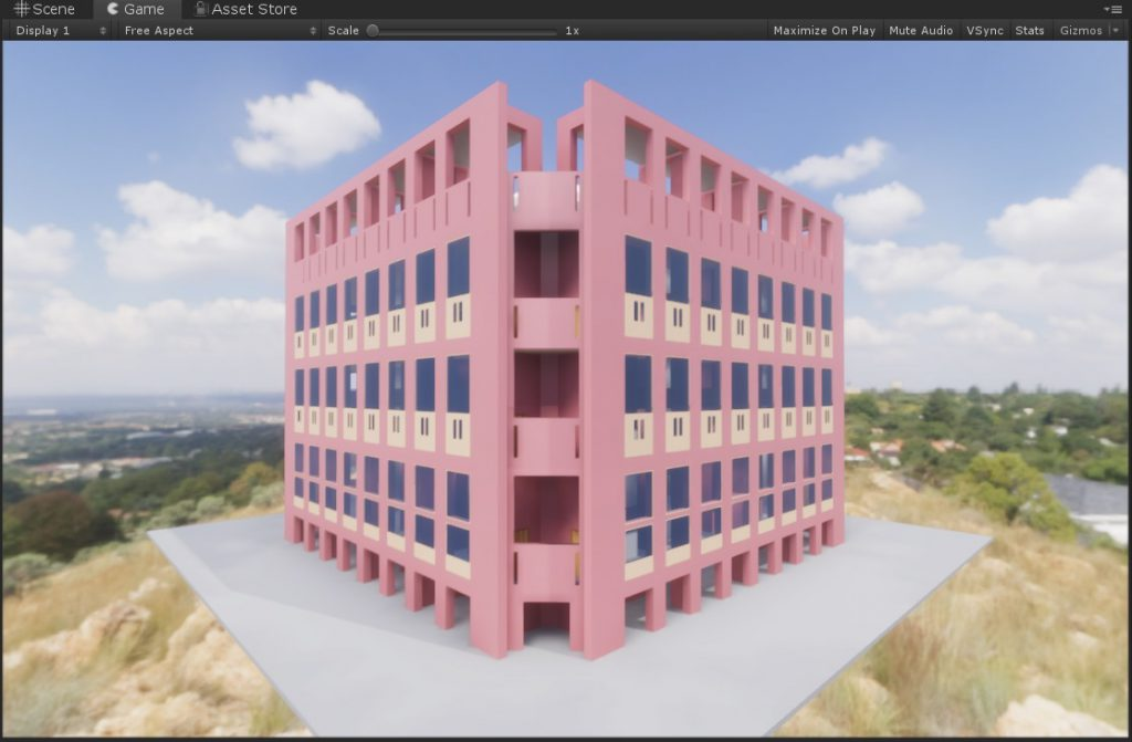 Tridify BIM Tools in a Unity 2019 HDRP project - Tridify